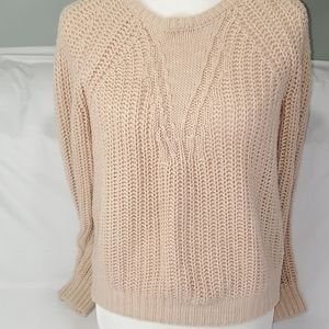Banana Republic cable knit sweater size small